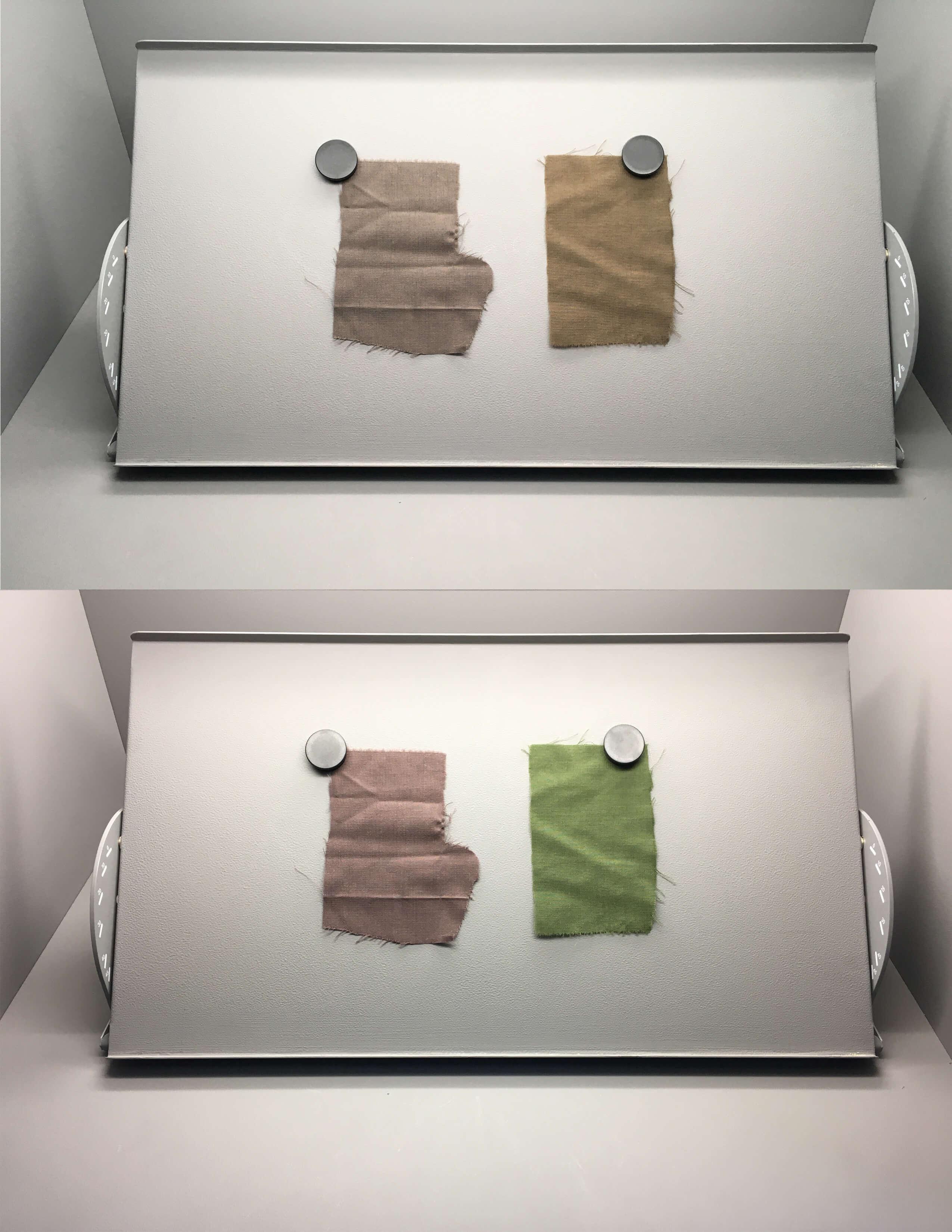 Colour assessment under VeriVide's Light Cabinet