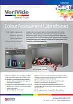 VeriVide Colour Assessment Cabinets Datasheet