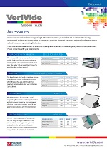 VeriVide Accessories Datasheet