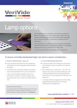 VeriVide Lamp Options Datasheet