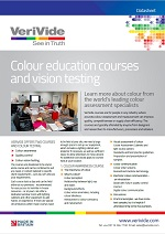Colour Courses Datasheet (UK only)