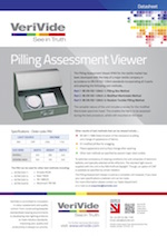 VeriVide Pilling Assessment Datasheet