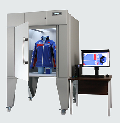 Sportswear in VeriVide's DigiEye for colour and appearance measurement