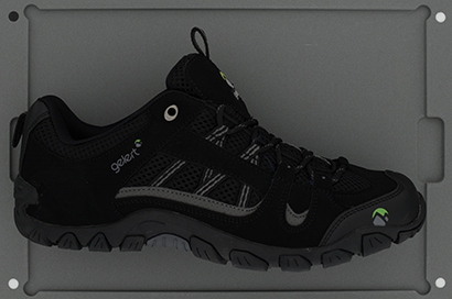 Sport shoe for colour and appearance measurement