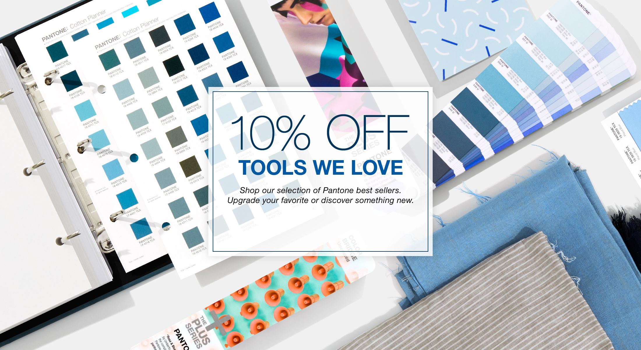 10% off promotion - Pantone Products we love