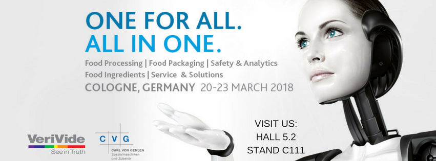 Successful few days at Anuga Foodtec 2018