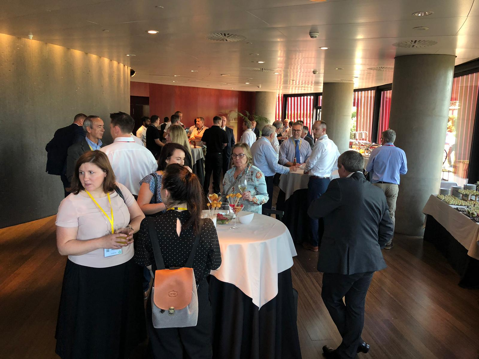 Opportunity for networking at the BTMA event
