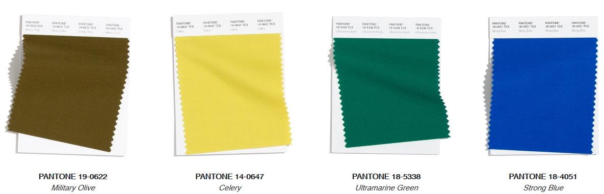 Pantone Top Trend Earthy Fashion Colours Autumn/ Winter 2020/2021
