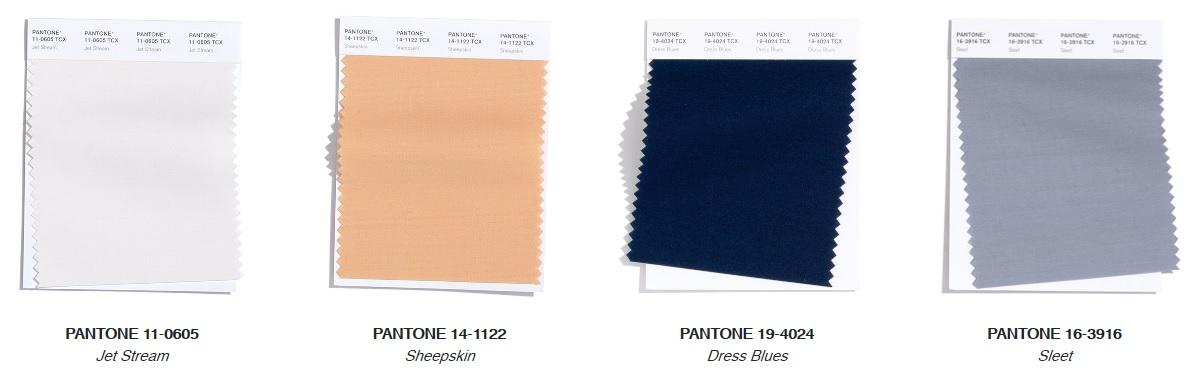 Pantone Top Trend Neutral Fashion Colours Autumn/ Winter 2020/2021