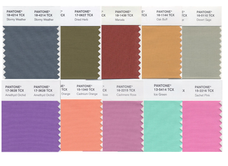 Pantone colour names – where do they come from?