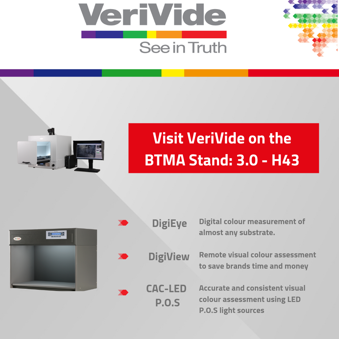 VeriVide to exhibit visual and digital quality assurance products at TechTextil