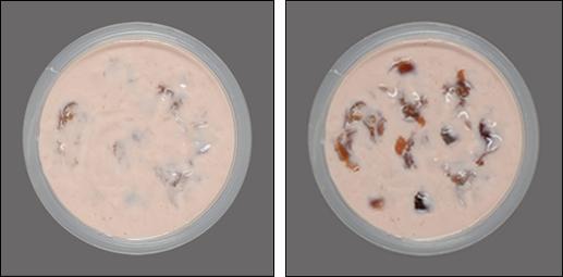 Colour Measurement of Visual Fruit in a Yogurt