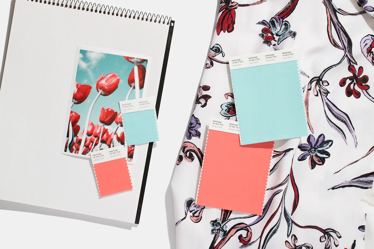 pantone fabric swatch standards
