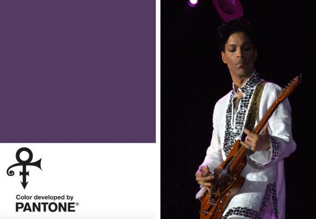 prince's purple pantone standard