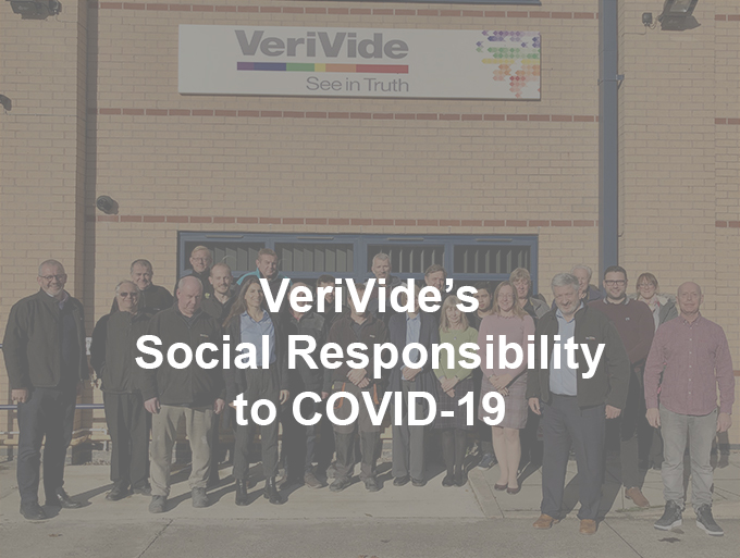 VeriVide's social responsibility to COVID-19