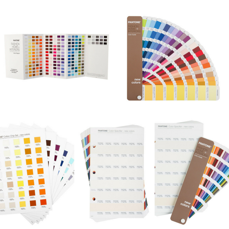 selection of supplement pantone products