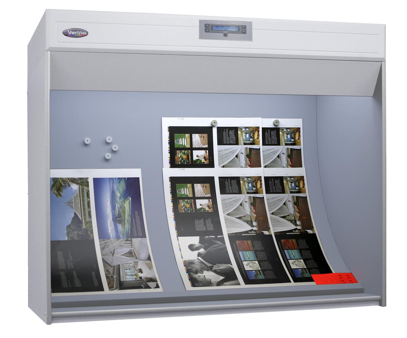 Colour control cabinets