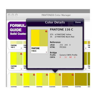 color manager cd - Pantone Color Manager