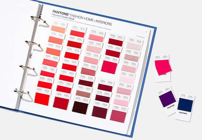 Pantone Polyester Swatch Set for athleisure, sportswear, lingerie and hosiery