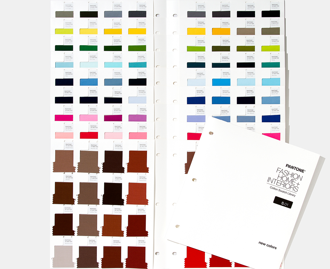 FHI Cotton Swatch Library Supplement