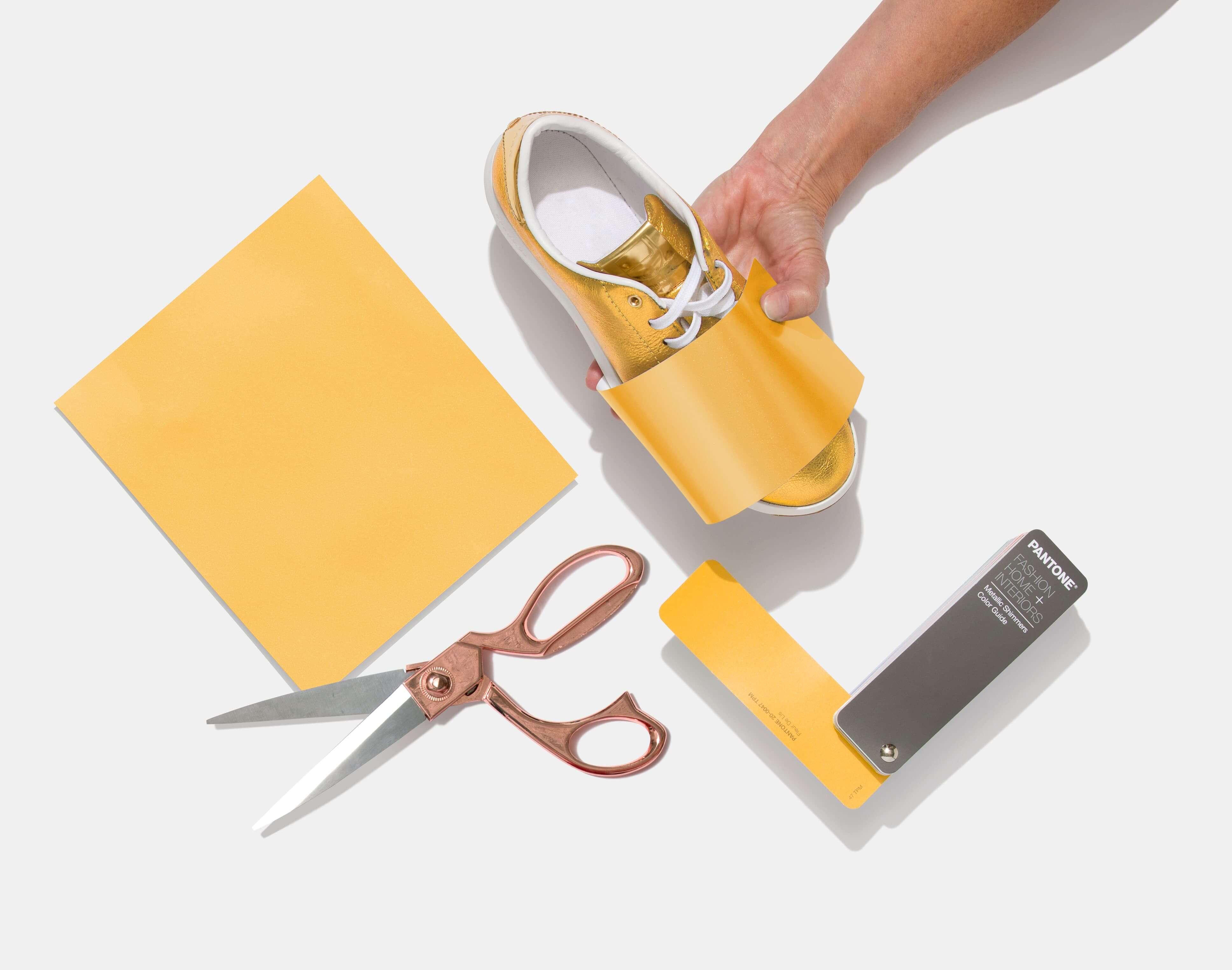 Pantone Metallic Shimmers Color Guide for footwear design