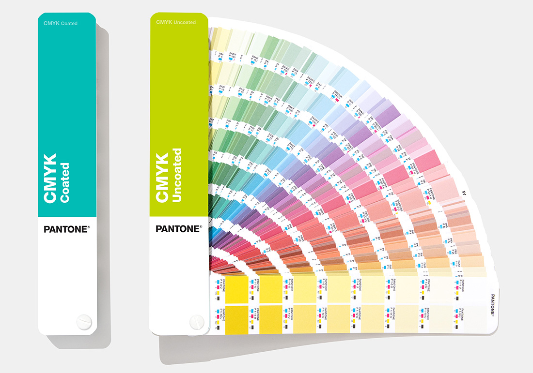 CMYK Guides Coated & Uncoated GP5101A