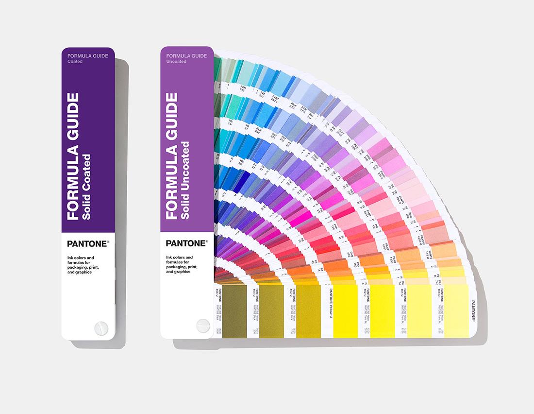 Pantone Formula Guide - NHS branding colours, blue