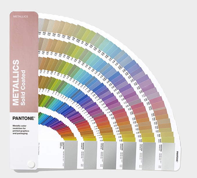 Pantone Metallic Guides with 54 new shades
