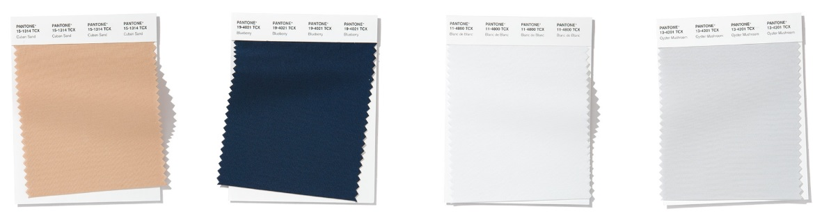 Pantone fashion classic colours Spring/ Summer 2020