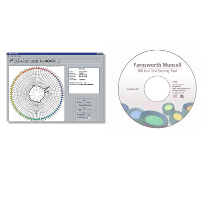 Farnsworth Munsell 100 Hue Scoring Software only