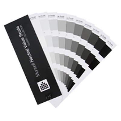 Munsell Neutral Value Scale - Glossy Finish