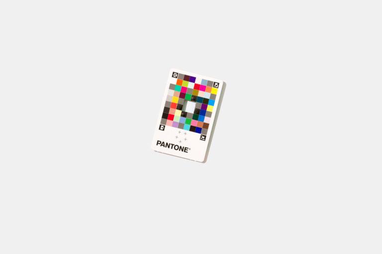 pantone colour capture card