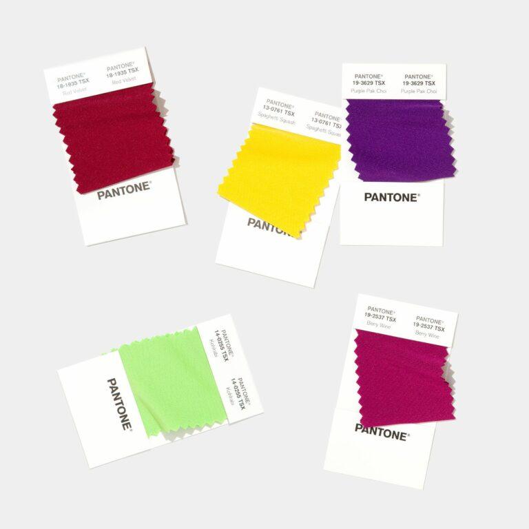 polyester pantone colours