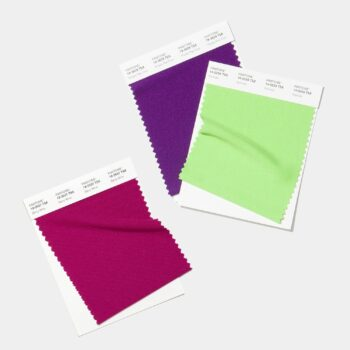 polyster swatch cards