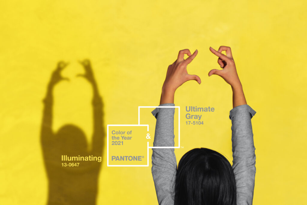 Double Winner for Pantone Color of the Year 2021 with Illuminating and Ultimate Gray