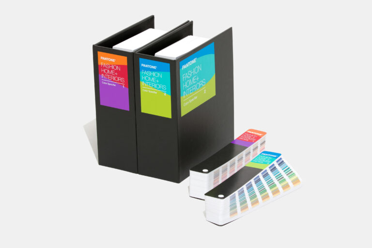 Fashion, Home and Interior colour specifier set