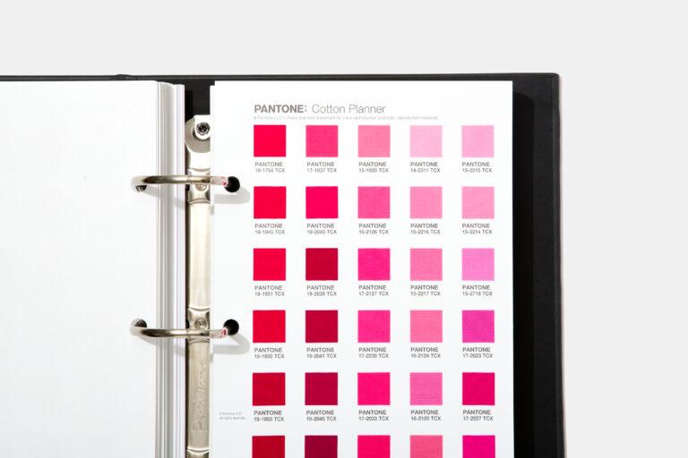 Pantone Cotton Planner pink