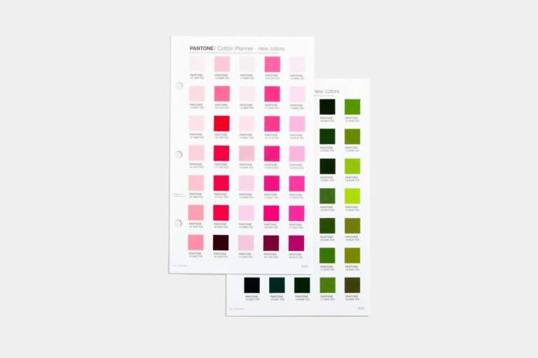 Fashion, Home and Interior Cotton Planner pages