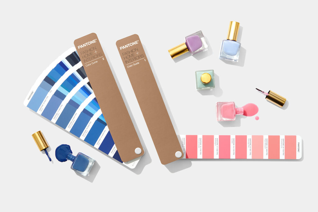 Review of this month's top Pantone tools for the fashion, home and interiors industry