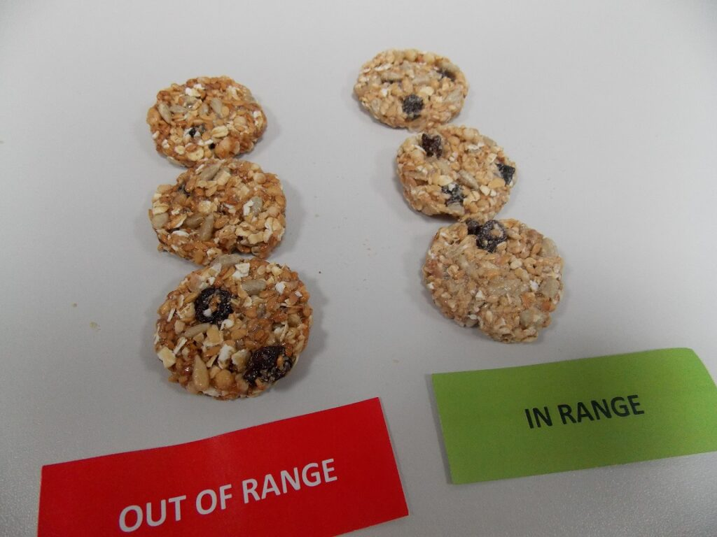 Is it always bad practice to have variations in colour for all food products?