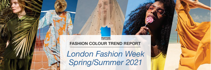 London Fashion Week Report Spring/ Summer 2021: The standout colours
