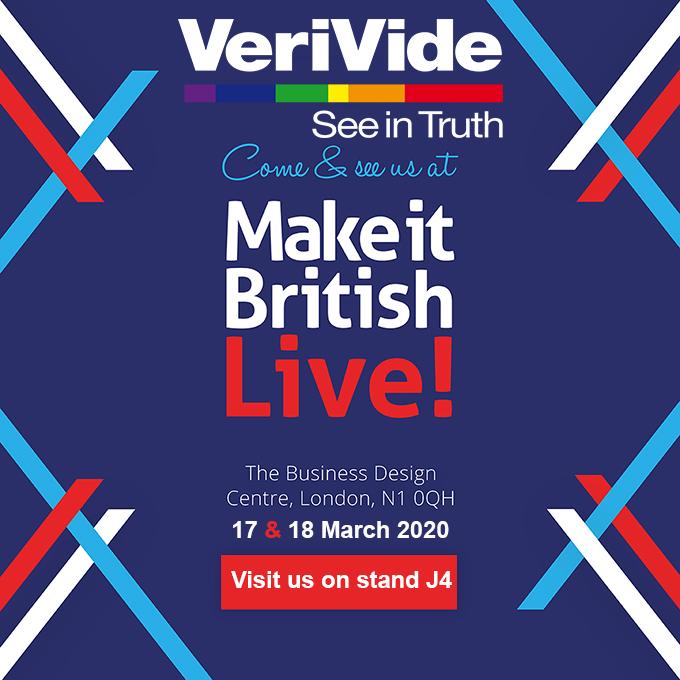 VeriVide at Make It British Live 2020