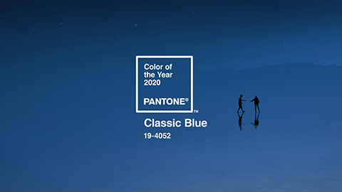 Inspire your design with Classic Blue: Pantone's Colour of the year for 2020!