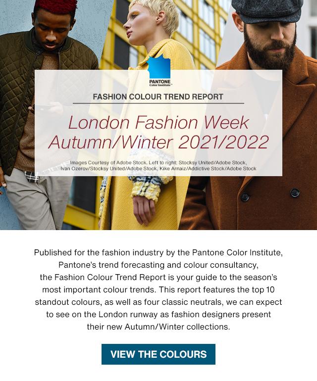 London Fashion Week Trend Report Autumn/Winter 2021/2022: Change, Colour, Culture