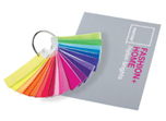 Pantone brightly coloured swatches