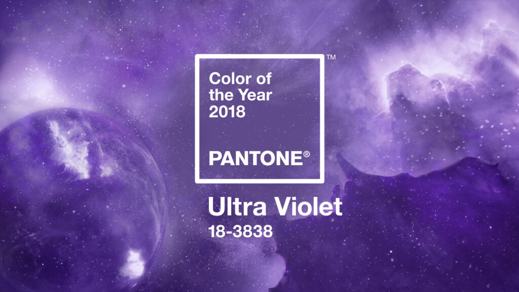 Drumroll… Ultra Violet revealed as Pantone's Colour of the Year 2018!