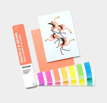 Pastels & Neons fan pantone