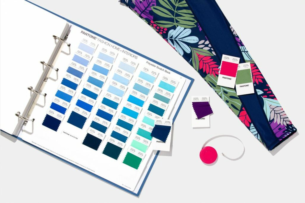 Expand Your Colour Options with the Pantone Polyester Swatch Book