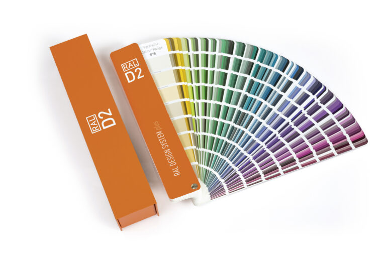 RAL D2 Plus colour fan