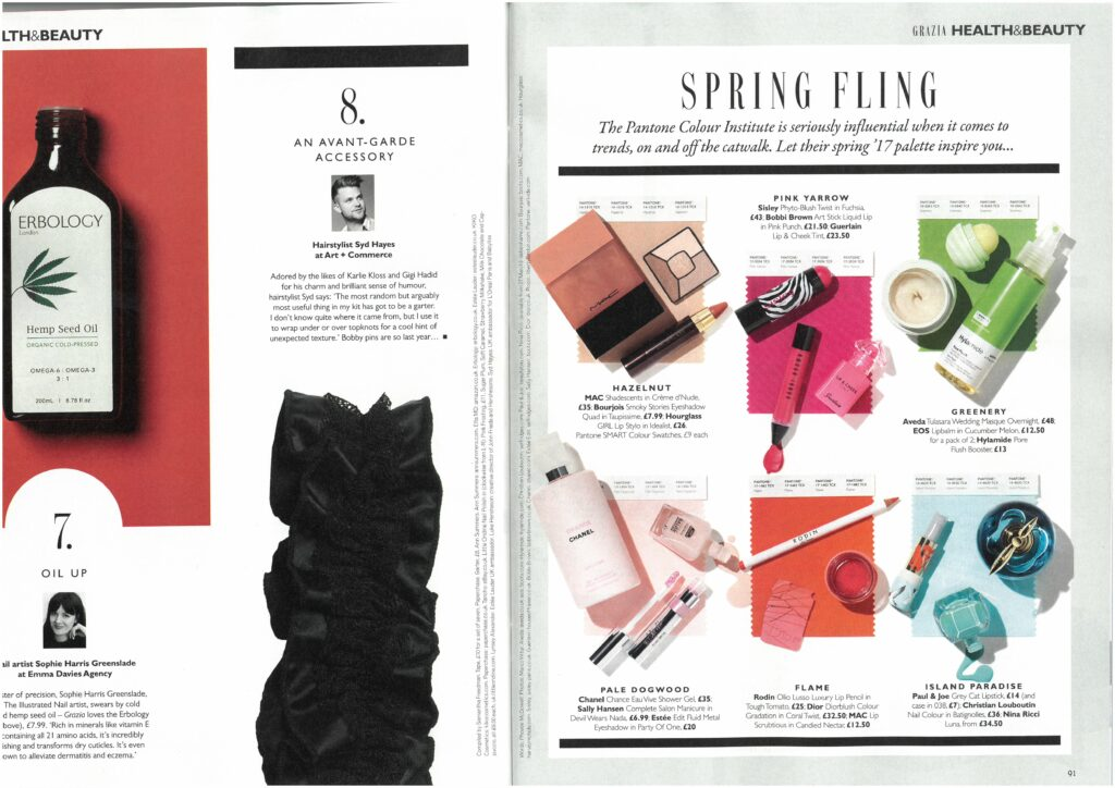 Grazia explains how Pantone can keep you on trend